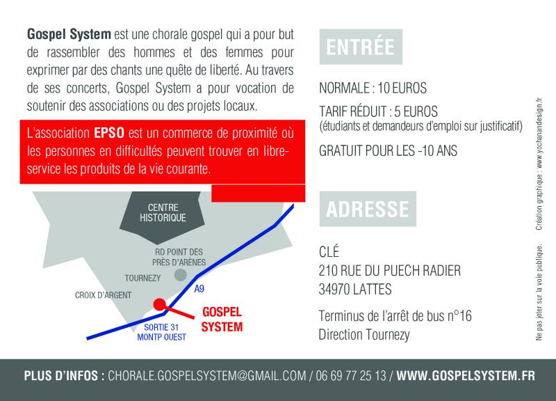 Concert Gospel System Fevrier 3 2015
