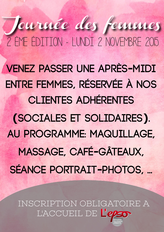 journée femmes - 2nde édition
